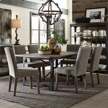 7 Piece Rectangular Table Set