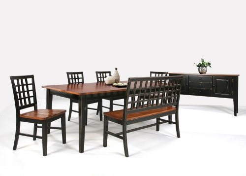 Dining - Arlington Lattice Back Bench