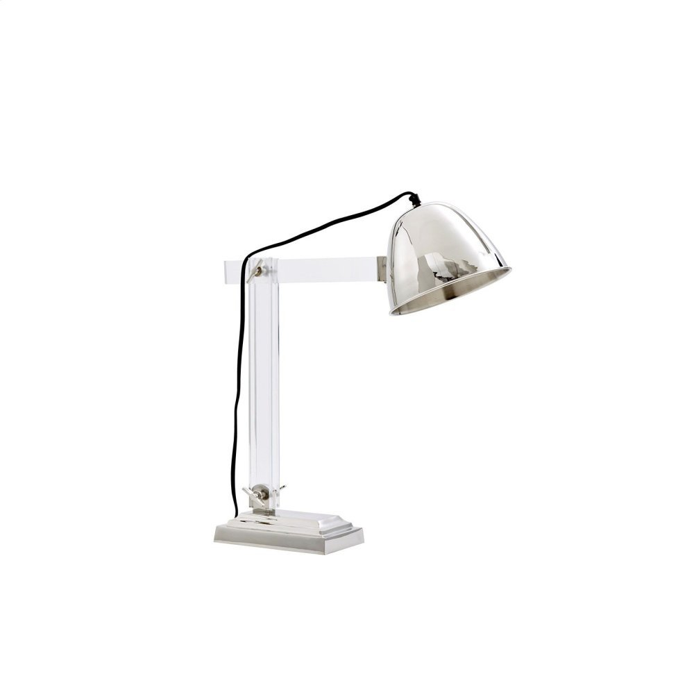 Anglia Table Lamp, Nickel