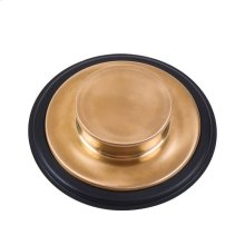 Sink Stopper - Brushed Bronze