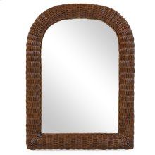 Coral Bay Wicker Mirror Coffee Bean 3708
