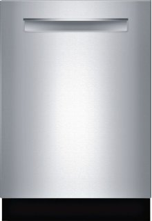 """24"""" Pocket Handle Dishwasher 800 Series- Stainless steel SHP68T55UC"""