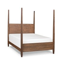 Hamptons Panel Pencil Post Bed, California King