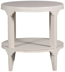 Derby Round Side Table 8001E