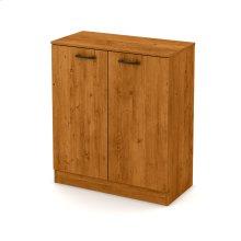 2-Door Storage Cabinet - Country Pine