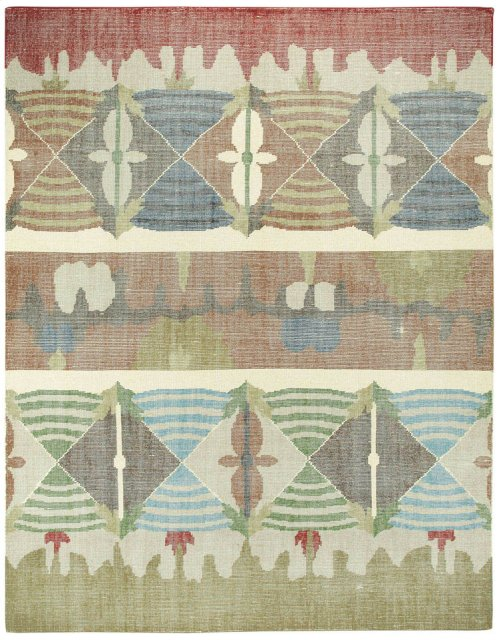 Vintage-Mirage Multi Hand Knotted Rugs