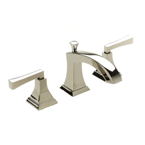 Widespread Lavatory Faucet Leyden (series 14) Polished Nickel