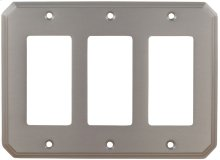 Triple Rocker Traditional Switchplate