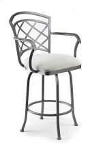 Boston B515H26AS Swivel Back and Arms Bar Stool Product Image