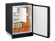 "1000 Series 24"" Combo® Model With Black Solid Finish and Field Reversible Door Swing"