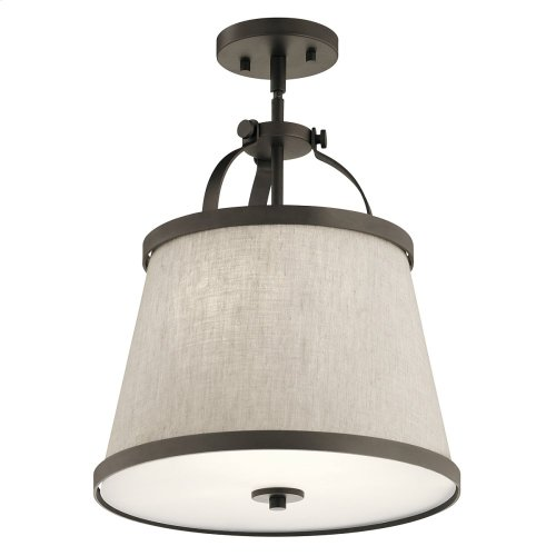 Amarena Collection Amarena 2 Light Pendant/Semi Flush NI