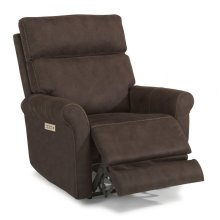 Owen Fabric Power Recliner with Power Headrests