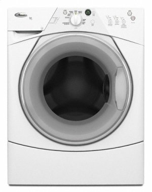 "White w/ Gray Accents 3.4 cu. ft. Capacity (I.E.C.) ENERGY STAR® Qualified Duet Sport® Washer ""RATED VERY GOOD"""