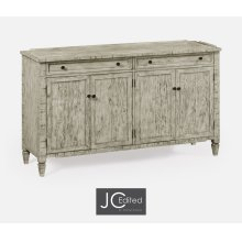 Four-Door Sideboard in Rustic Grey