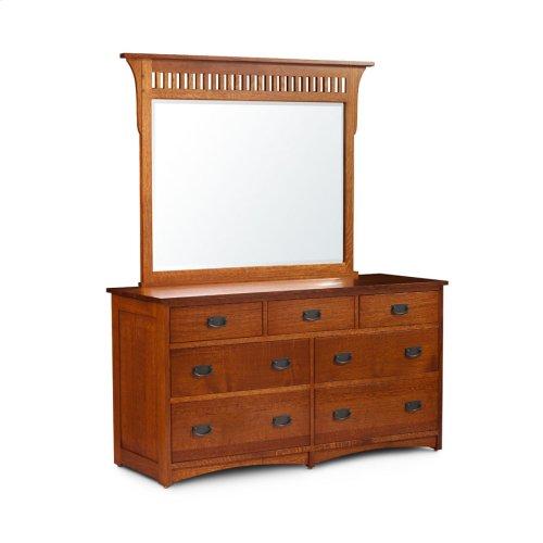 Prairie Mission 7-Drawer Dresser, Large