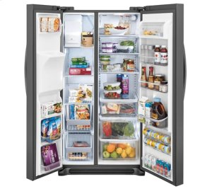 Frigidaire Gallery 22.2 Cu. Ft. Counter-Depth Side-by-Side Refrigerator