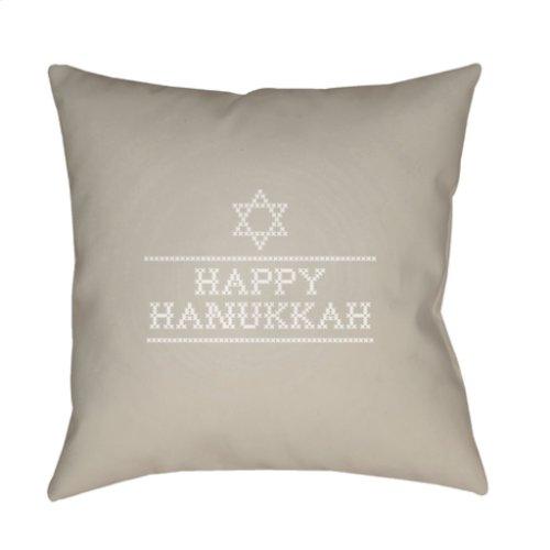 "Happy Hannukah II JOY-010 18"" x 18"""