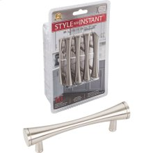 """10-Pack of 4"""" Overall Length Cabinet Bar Pulls. Holes are 3"""" center-to-center."""