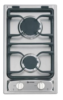 """White 12"""" Deluxe Gas Cook Top"""