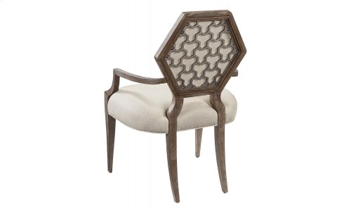 Geode Druzy Arm Dining Chair