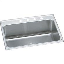 """Elkay Lustertone Classic Stainless Steel 31"""" x 22"""" x 11-5/8"""", Single Bowl Drop-in Sink"""