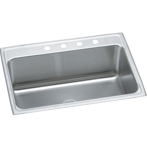 "Elkay Lustertone Classic Stainless Steel 31"" x 22"" x 11-5/8"", Single Bowl Drop-in Sink"