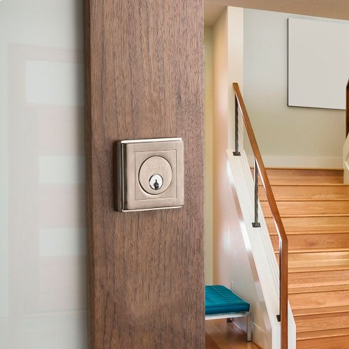 Satin Nickel Hollywood Hills Deadbolt