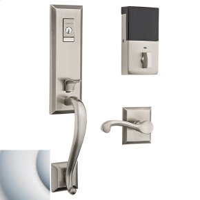 Satin Chrome Evolved Stonegate Handleset