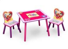 PAW Patrol, Skye & Everest Table & Chair Set with Storage - Skye \u0026 Everest