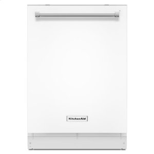 KitchenAid(R) 46 DBA Dishwasher with Third Level Rack - White - WHITE