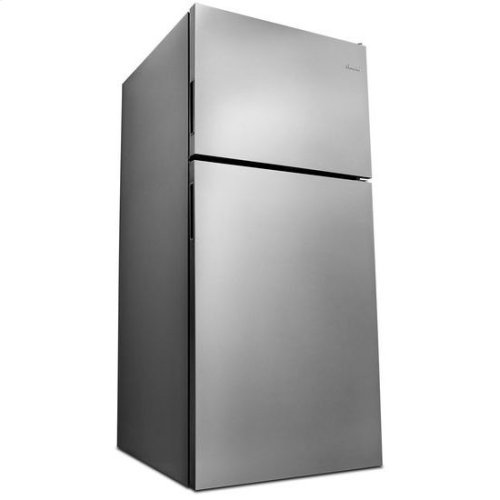 30-inch Wide Top-Freezer Refrigerator with Glass Shelves - 18 cu. ft. - white