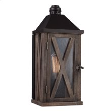 1 - Light Outdoor Wall Sconce
