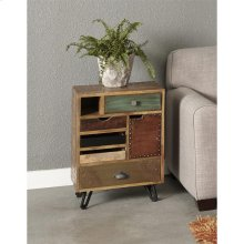 5 Drw 1 Dr End Table