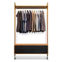 Theo Wall Unit With Hanger  Hard Fumed