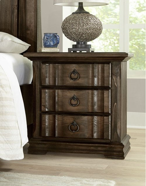 Night Stand - Rustic Hills - Coffee