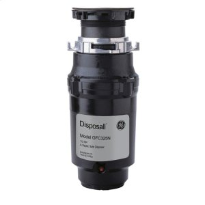 GEGE(R) 1/3 HP Continuous Feed Garbage Disposer - Corded