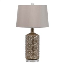 150W Glass/Crystal Table Lamp