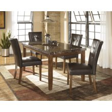 5pc Dinette-Lacey Medium Brown