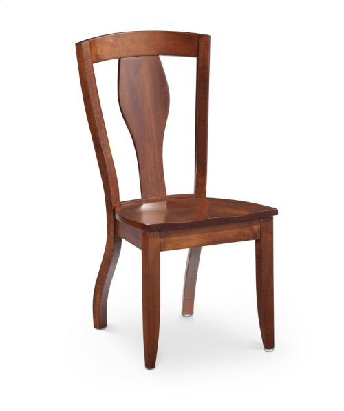 Crawford Side Chair, Crawford Side Chair, Wood Seat