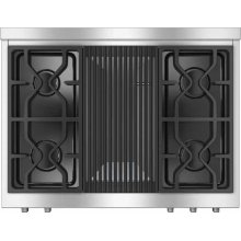 "HR 1935 DF GR 36"" Dual Fuel Range - DF"