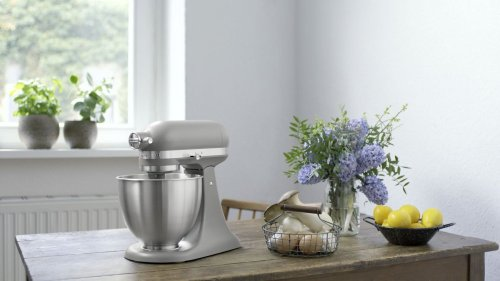 Artisan® Mini 3.5 Quart Tilt-Head Stand Mixer - Matte Gray