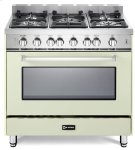 """Antique WHite 36"""" Gas Single Oven Range - 'N' Series Product Image"""