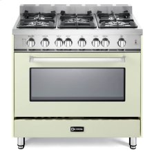 "Antique WHite 36"" Gas Single Oven Range - 'N' Series"
