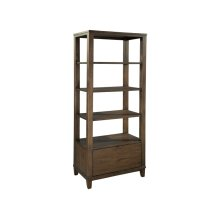 office@home Oak Park Open Shelving