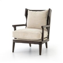 Cambric Ivory Cover Lennon Chair