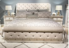 King Uph Sleigh Bed