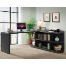 Perspectives - Return Desk - Ebonized Acacia Finish Product Image