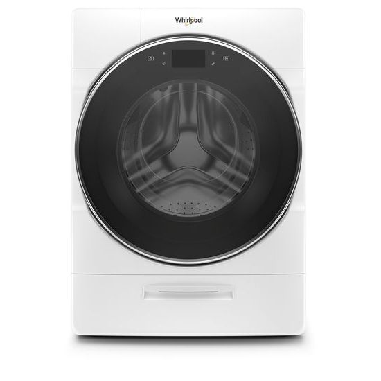Whirlpool(R) 5.0 cu. ft. Smart Front Load Washer with Load & Go(TM) XL Plus Dispenser - White