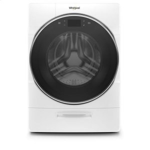 Whirlpool® 5.0 cu. ft. Smart Front Load Washer with Load & Go XL Plus Dispenser - White Product Image