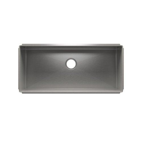 """J7® 003928 - undermount stainless steel Kitchen sink , 36"""" × 16"""" × 10"""""""